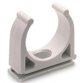 Clip-Plástico tubo 25mm